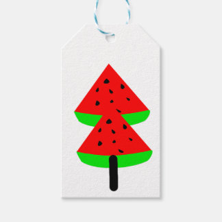 watermelon fruit tree gift tags