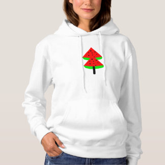 watermelon fruit tree hoodie