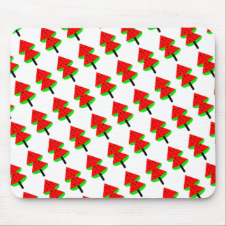 watermelon fruit tree mouse pad
