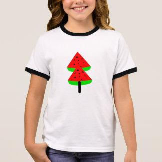 watermelon fruit tree ringer T-Shirt