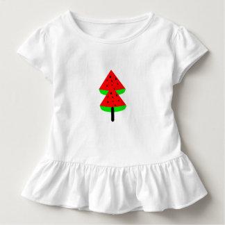 watermelon fruit tree toddler t-shirt