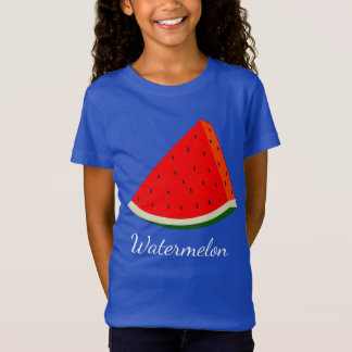 Watermelon Girls' fine Jersey T-Shirt