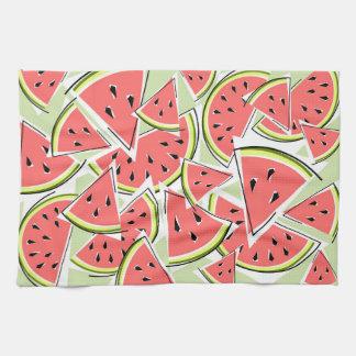 Watermelon Green kitchen towel