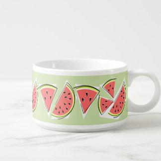 Watermelon Green Line chili bowl