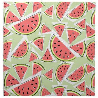 Watermelon Green Multi napkins cloth