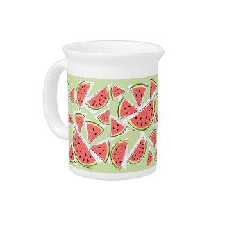 Watermelon Green Multi pitcher