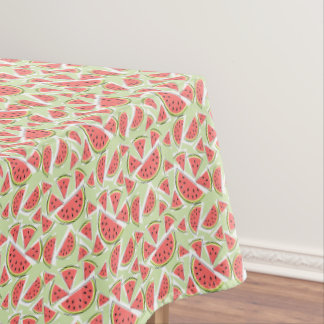 Watermelon Green Multi tablecloth small patten