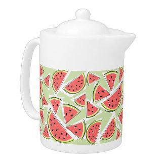 Watermelon Green Multi teapot