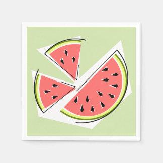 Watermelon Green Pieces napkins paper Paper Napkin