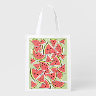 Watermelon Green reusable bag