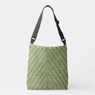 Watermelon Green Stripes Crossbody Bag