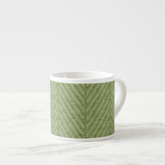 Watermelon Green Stripes Espresso Cup