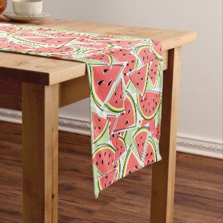 Watermelon Green table runner