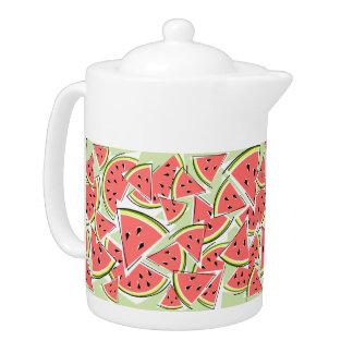 Watermelon Green teapot