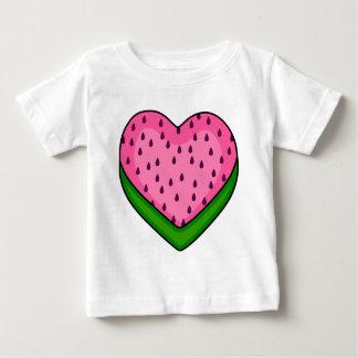 Watermelon heart baby T-Shirt