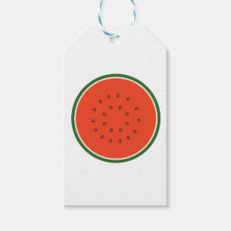 watermelon inside gift tags