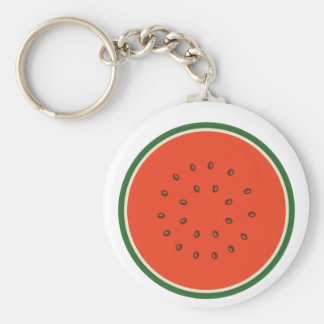 watermelon inside keychain
