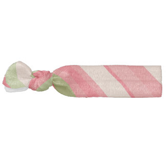 Watermelon-Inspired Stripes Hair Tie