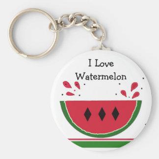 Watermelon Keychain