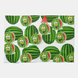 watermelon kitchen hand towel