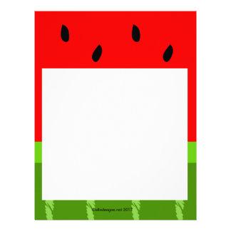 Watermelon Letterhead