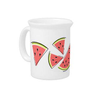 Watermelon Line pitcher