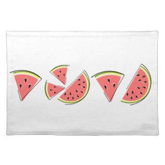 Watermelon Line placemat cloth