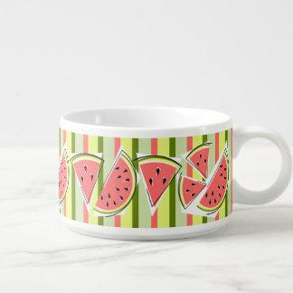 Watermelon Line Stripe chili bowl