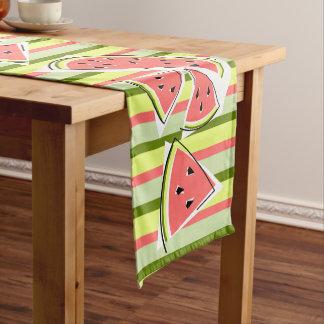 Watermelon Line Stripe table runner