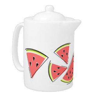 Watermelon Line teapot