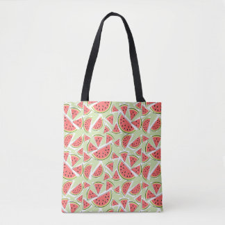 Watermelon Multi Green tote bag
