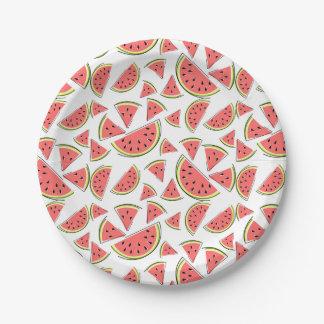 Watermelon Multi paper plates