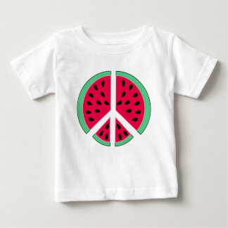 Watermelon of Peace Baby T-Shirt