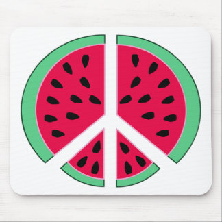 Watermelon of Peace Mouse Pad