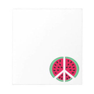 Watermelon of Peace Notepad