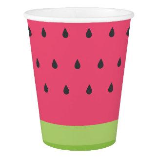 Watermelon Paper Cups