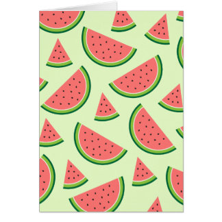 Watermelon Party Card