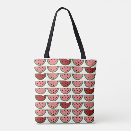 Watermelon Pattern All-Over-Print Tote Bag