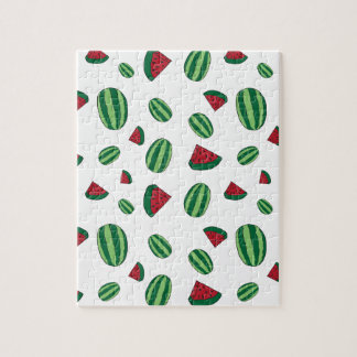 Watermelon Pattern Jigsaw Puzzle