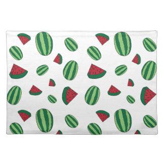 Watermelon Pattern Placemat