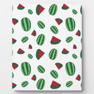 Watermelon Pattern Plaque