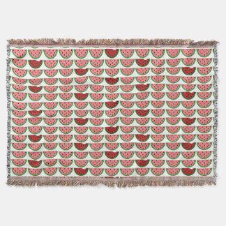 Watermelon Pattern Throw Blanket