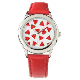Watermelon Pattern Triangles Watch
