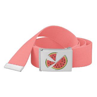 Watermelon Pieces belt pink