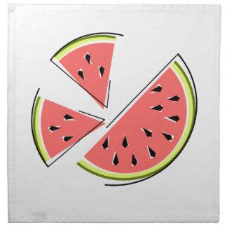 Watermelon Pieces napkins cloth