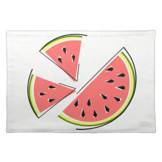 Watermelon Pieces placemat cloth