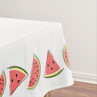 Watermelon Pieces tablecloth border
