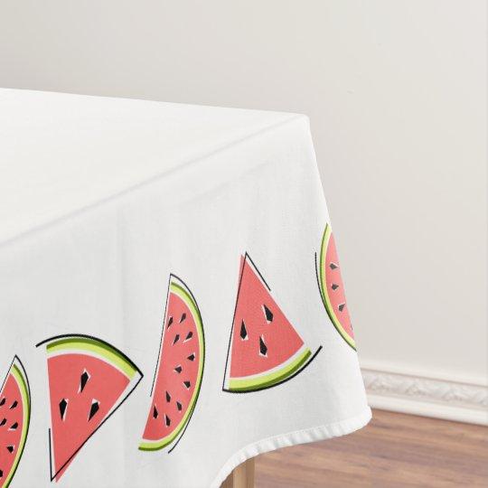 Watermelon Pieces tablecloth border