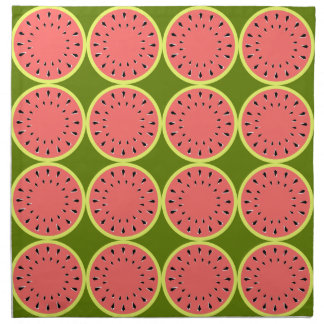 Watermelon Pink Multi napkins cloth