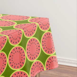 Watermelon Pink Multi tablecloth medium